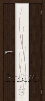 Межкомнатная дверь Глейс-2 Twig, 3D Wenge фото