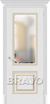 Межкомнатная дверь Классико-33G-27, Virgin фото