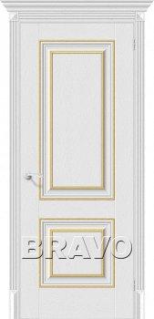 Межкомнатная дверь Классико-32G-27, Virgin фото