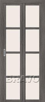 Межкомнатная дверь Твигги V4, Grey Veralinga фото