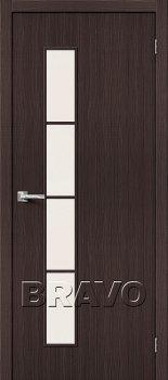 Межкомнатная дверь Тренд-4, Wenge Veralinga фото