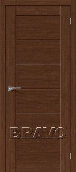 Межкомнатная дверь Легно-21, Brown Oak фото