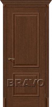 Межкомнатная дверь Классико-12, Brown Oak фото