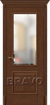 Межкомнатная дверь Классико-13, Brown Oak фото
