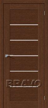 Межкомнатная дверь Легно-22, Brown Oak фото