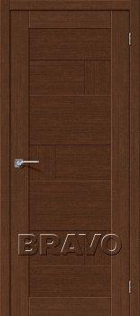 Межкомнатная дверь Легно-38, Brown Oak фото