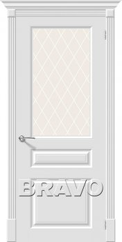 Межкомнатная дверь Скинни-15.1, Whitey фото