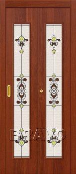 Межкомнатная дверь 23Х, Л-11 (ИталОрех) фото