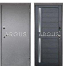 Дверь Аргус Люкс ПРО Мирра Лунная Ночь / Серебро Антик