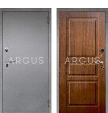 Дверь Аргус Люкс ПРО Сабина Дуб Золотой / Серебро Антик