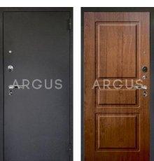Дверь Аргус Люкс ПРО Сабина Дуб Золотой / Черный Шелк