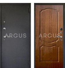 Дверь Аргус Люкс ПРО Сонет Дуб Золотой / Черный Шелк