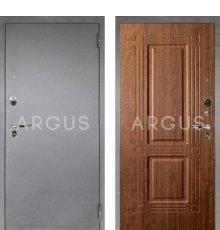 Дверь Аргус Люкс ПРО Триумф Дуб Золотой / Серебро Антик