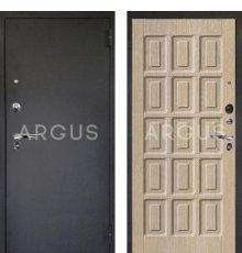 Дверь Аргус Люкс ПРО Шоколад Капучино / Черный Шелк