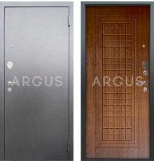 Дверь Аргус Люкс АС Альма Дуб Золотой / Серебро Антик