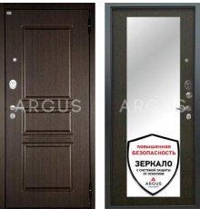 Дверь Аргус Люкс АС Милли Венге / 2П Сабина Венге