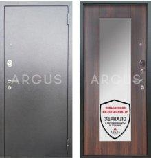 Дверь Аргус Люкс АС Милли Коньяк Калифорния / Серебро Антик