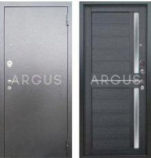 Дверь Аргус Люкс АС Мирра Лунная Ночь / Серебро Антик