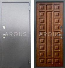 Дверь Аргус Люкс АС Сенатор Дуб Золотой / Серебро Антик