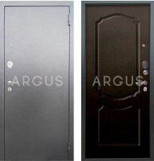 Дверь Аргус Люкс АС Сонет Венге / Серебро Антик