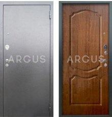 Дверь Аргус Люкс АС Сонет Дуб Золотой / Серебро Антик