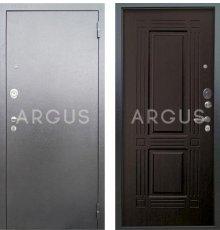 Дверь Аргус Люкс АС Триумф Венге / Серебро Антик