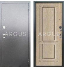Дверь Аргус Люкс АС Триумф Капучино / Серебро Антик