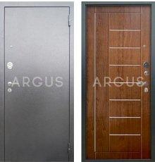 Дверь Аргус Люкс АС Фриза Дуб Золотой / Серебро Антик
