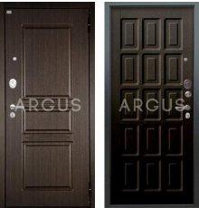 Дверь Аргус Люкс АС Шоколад Венге / 2П Сабина Венге