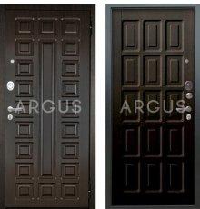 Дверь Аргус Люкс АС Шоколад Венге / 2П Сенатор Венге