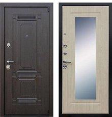 Дверь АСД Викинг Беленый дуб с зеркалом