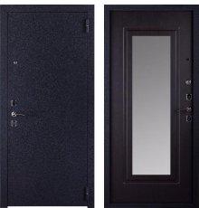 Дверь ЗД Техно Зеркало Венге фото