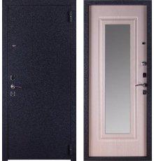 Дверь ЗД Техно Беленый дуб с зеркалом фото