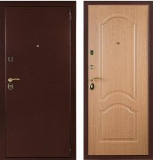 Дверь ЗД Лайт 3К Антик Дуб рон