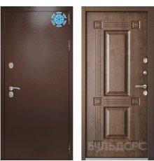 Дверь Термо1 Букле шоколад Орех грецкий ТВ-2