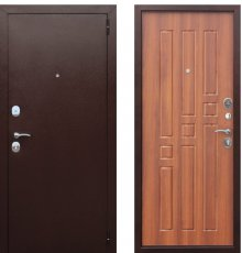 Дверь Цитадель Гарда 8 мм Рустикальный дуб фото