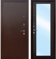 Дверь Цитадель Царское зеркало Maxi Медный антик/Венге фото