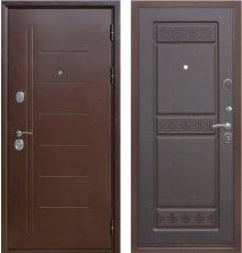 Дверь Цитадель Троя 10 см Медный антик/Венге