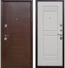 Дверь Цитадель Троя 10 см Медный антик/Белый ясень