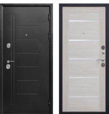 Дверь Цитадель Троя 10 см Серебро/Лиственница беж