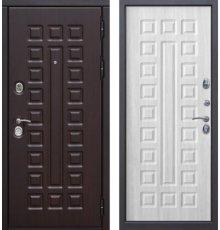 Дверь Цитадель Сенатор 12 см Венге/Белый ясень