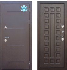 Дверь Цитадель ISOTERMA 11 см Медный антик/Венге с терморазрывом