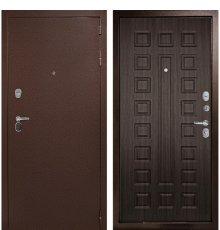 Входная металлическая дверь Континент Гарант-1 3К (Медный антик / ЭкоВенге)