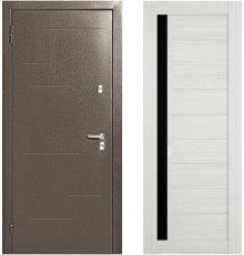 Дверь Меги 573 Капучино / Сандал белый