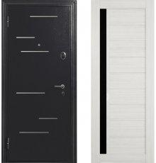 Дверь Меги 578 Серебро / Сандал белый