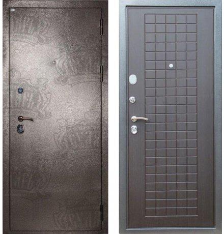 Дверь Дива МД-26 Серебро / Венге фото