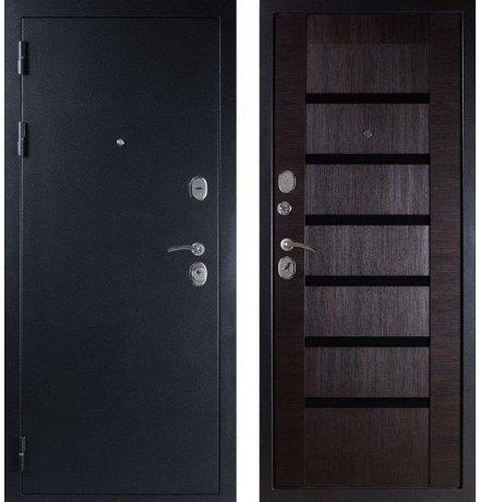 """Дверь Дива МД-05 Серебро / Орех темный """"Индиго"""" фото"""
