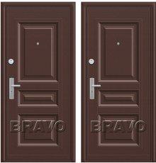 Дверь Bravo К700-2-66 Молотковая эмаль/Молотковая эмаль фото