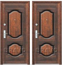 Дверь Bravo К550-2-66 Бархат/Бархат фото