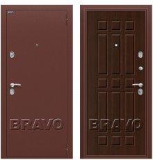 Дверь Bravo Старт Антик Медь/П-33 (Венге)